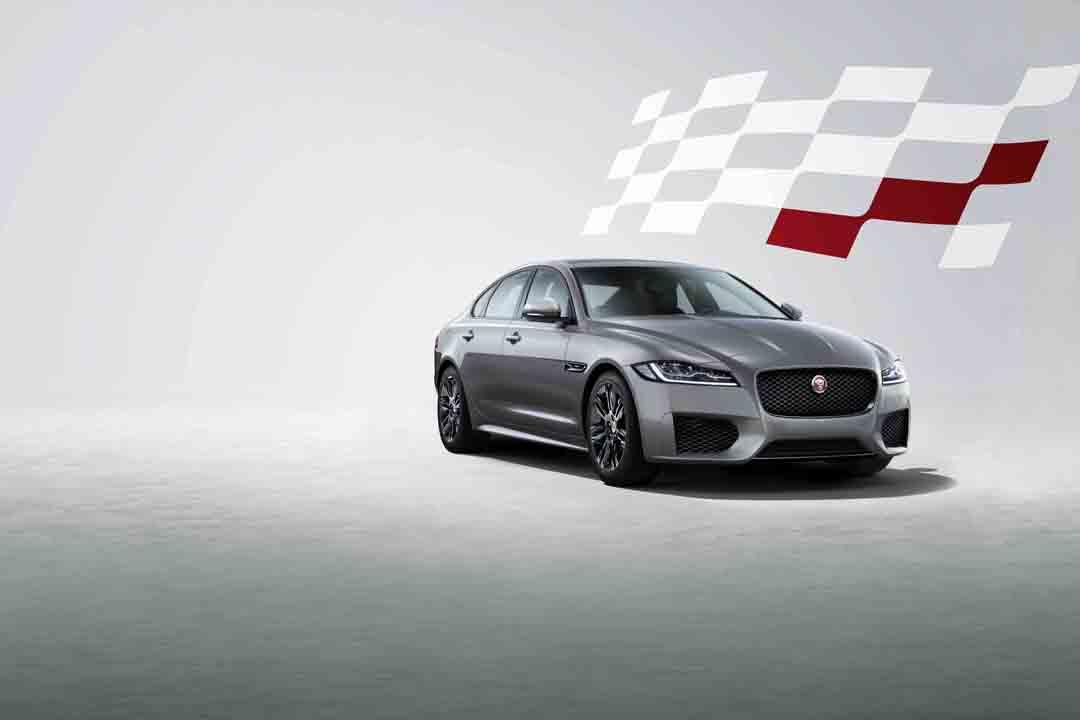 Jaguar XF в версии Chequered Flag
