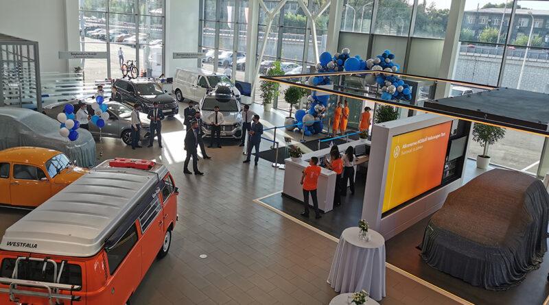 Volkswagen Centre Almaty: 4 года гарантии, презентация Taos и «посудомойка» для двигателя